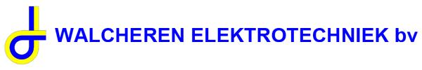 Walcheren Elektrotechniek Logo